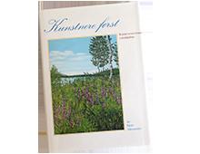 """Forside av boken """"Kunstnere Først"""". Bilde."""