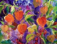 Fargerike blomster. Bilde