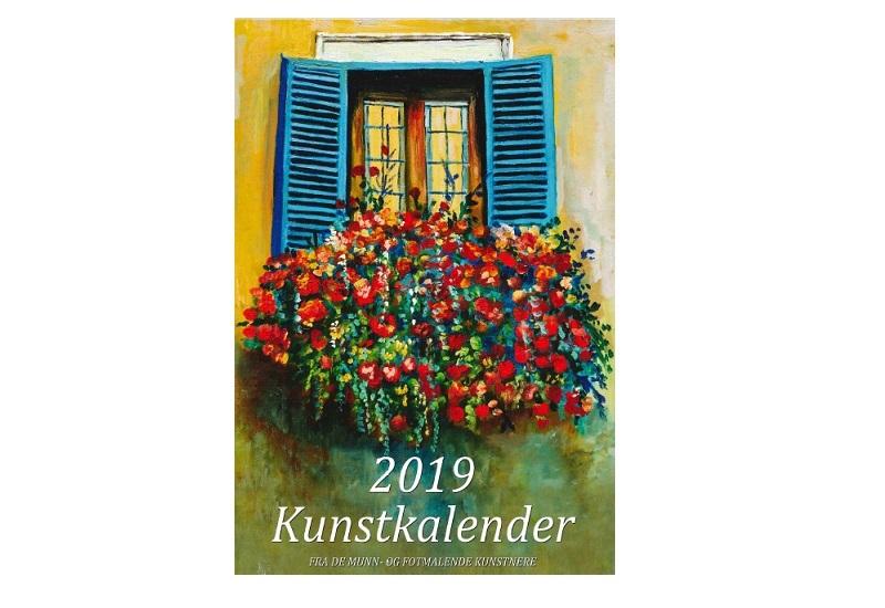 Forside Kunstkalender 2019. Bilde.