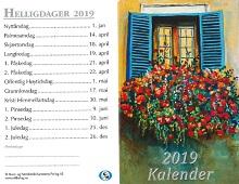 Lommekalender 2019. Bilde.