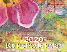 Forside på Kunstkalender 2020.. Bilde.