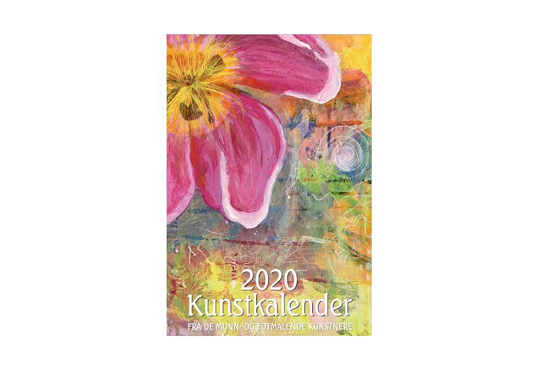Forside på Kunstkalender 2020. Bilde.