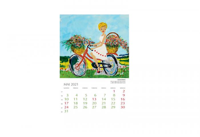 Bilde av mai i Kunstkalender 2021. Bilde.